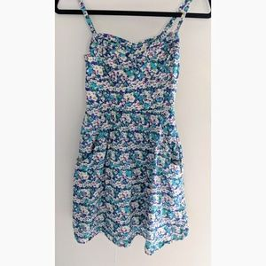 American Eagle Outfitters Floral Dress Pockets